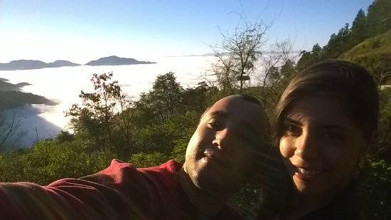 Vale do Paraiba: Vista do vale do Paraíba, entrada para Santo Antônio do Pinhal