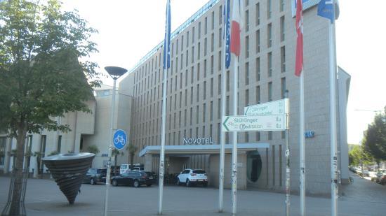 Novotel Freiburg: фасад