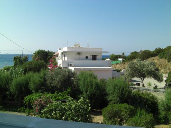 Tselios Apartments: Ausblick