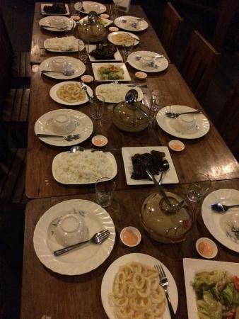 Balinsasayaw Resort: Avondeten