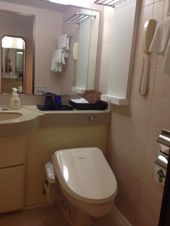Loisir Hotel Naha: The toilets in Japan rock. Comes with an array of bidet and water pressure functions.