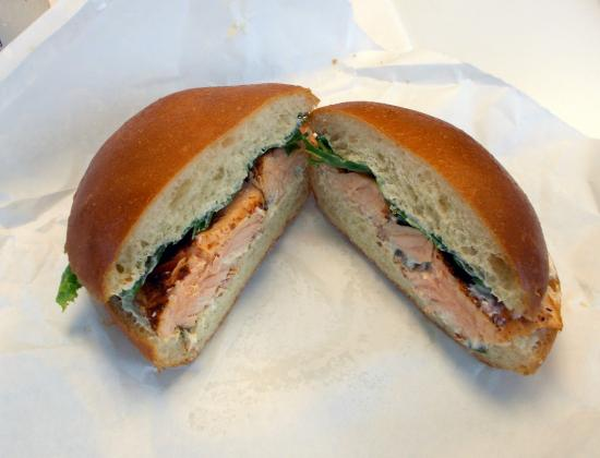 Real Food: Salmon Sandwich