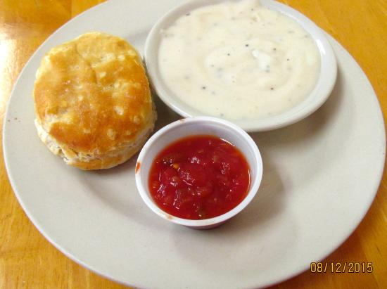 The Cozy Kitchen: Biscuit, gravy & salsa
