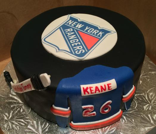 Dream Cakes Bakery New York Rangers