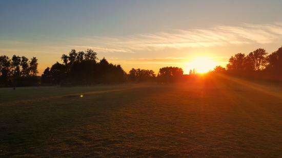 Bouncers Farm: Sunset at Bouncers