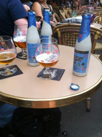 LA CONTRESCARPE: Cerveja