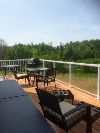 The Gables of PEI Resort: Cordelias view from deck