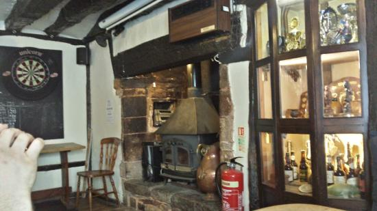 Hatherleigh, UK: Inside of the pub