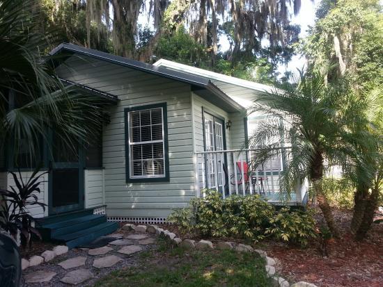 Mount Dora Historic Inn: Wonderful, quiet Oasis Cottage