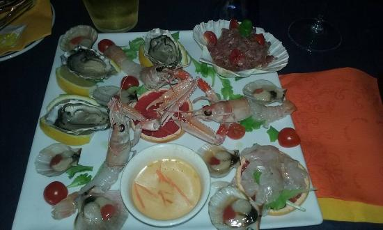 All 39 esterno si mangia in relax picture of ristorante da for Antipasti di pesce