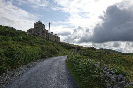 The Coastguard Station: Station from Lower Sky Road