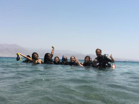 Shulamit's Eilat Diving Adventures: The group