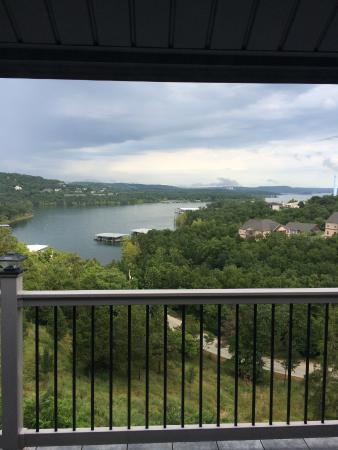 Treehouse Condominiums: View from Balcony