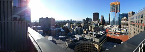 Hyatt Regency Boston: Panoramic from the balcony