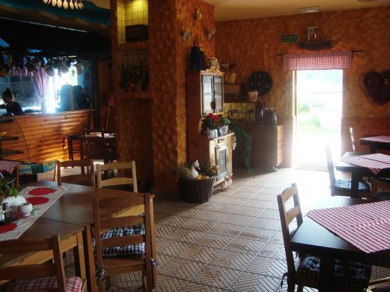 Ruda Slaska, Polônia: Spisekøkken og reception