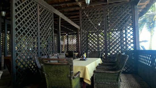 Anomabo, Ghana: Restaurant