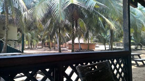 Anomabo, Ghana: Yard