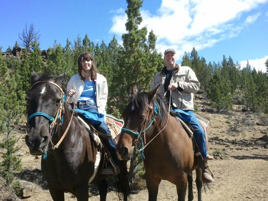 Long Hollow Guest Ranch : Cassidy and me