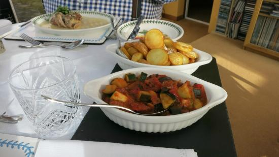 Dunultach: De maaltijd werd zeer compleet aangeboden.
