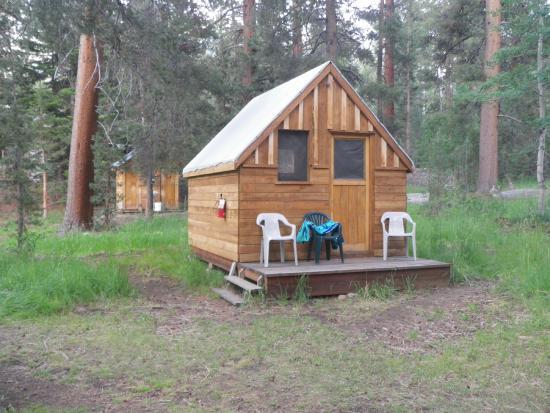 Muir Trail Ranch: tent cabin
