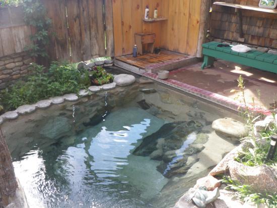 Muir Trail Ranch: hot spring
