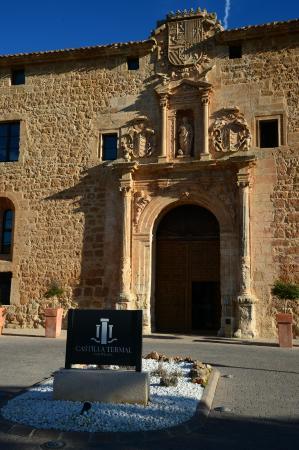 Castilla Termal Burgo de Osma: Fachada plateresca