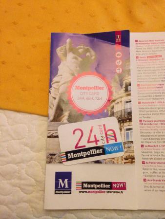 Pharmacie de la Misericorde: Guide indiquant que la visite est gratuite...!!!