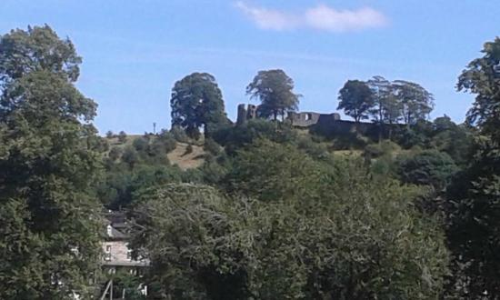 Kendal castle view of
