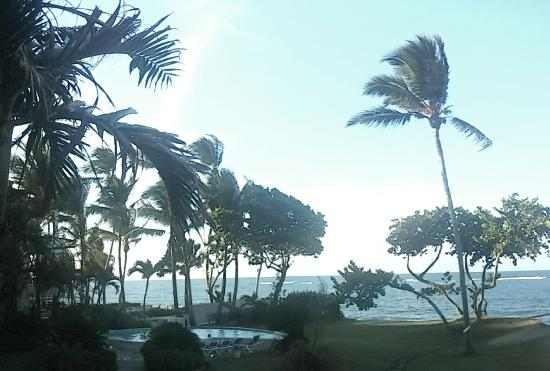 Agualina Kite Resort: view from our room