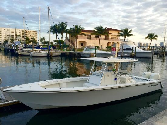 35 foot center console open fisherman picture of angler for Fishing charters west palm beach fl
