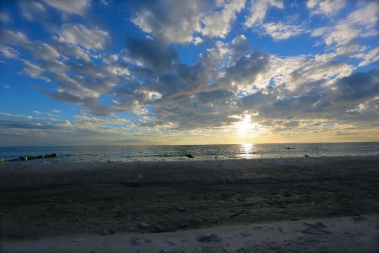 Shoreline Island Resort: sunset