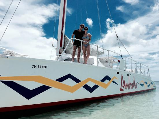 Simpson Bay, St. Maarten-St. Martin: Great Excursion! Thank you captain
