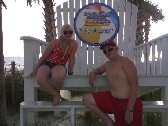The Sandpiper Beacon Beach Resort: .