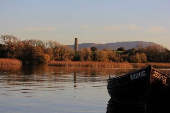 Inis Cealtra - Holy Island, Mountshannon, Lough Derg, Co. Clare. photo by Vera O'Rourke
