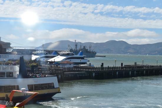 View from restaurant picture of fog harbor fish house for Fog harbor fish house san francisco