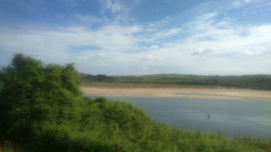 Ballaminers House: Looking Across To Daymer Bay From Padstow July 2015