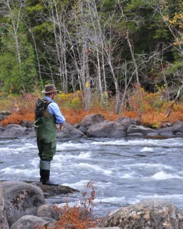 Chestertown, NY: Fly Fishing on the Schroon River