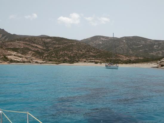 Polyaigos, Grécia: la Baia