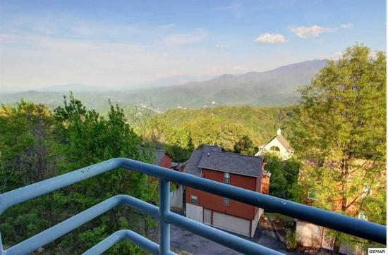 The Summit of Gatlinburg: another view from balcony