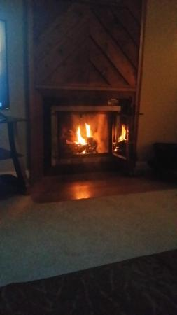 The Summit of Gatlinburg: fireplace <3