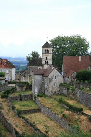 Le Relais des Abbesses : Famous view of the town