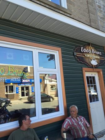 "Gore Bay, Canada: The ""Starbucks"" of the island"
