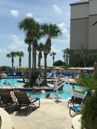 The Ritz Carlton Amelia Island Pool Cabana