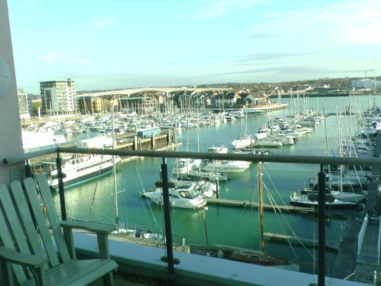Town or Country Serviced Accommodation: Balcony Views