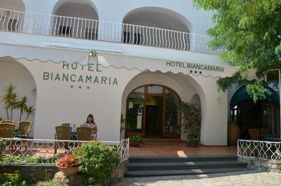 Hotel Biancamaria: entrada