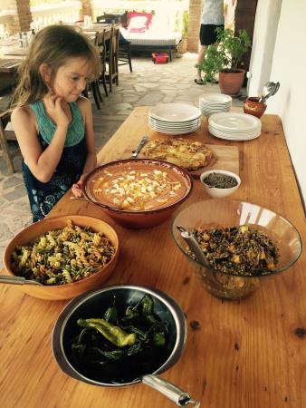 El Convento Retreat: Dinner time