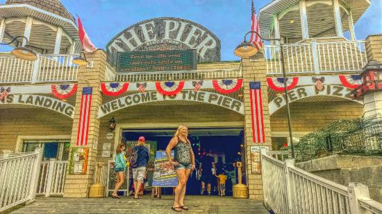 Old Orchard Beach Pier Photo