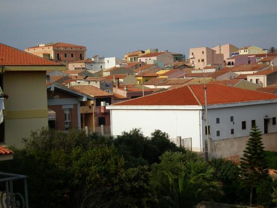 Hotel L'Ancora : Vue de Santa Teresa Gallura depuis l'hôtel