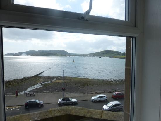 Glenrigh Guest House: View from Room 14