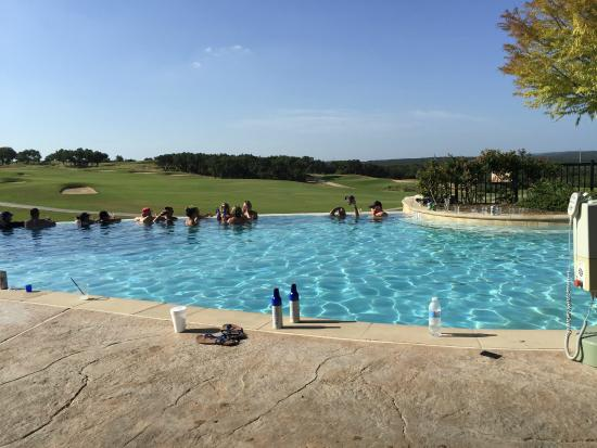 Jw Marriott San Antonio Hill Country Resort Spa Infinity Pool Overlooking The Golf